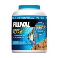 Fluval Tropical Fish Flake Food Advanced formula replaces Nutrafin Aquarium